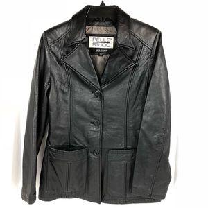 Woman's Pelle Studios Leather Jacket size Medium